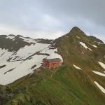 Wormser Hütte Blick aufs Kreuzjoch