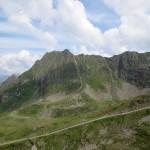 Blick auf das Hochjoch von der Wormser Hütte